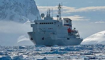 Akademik Sergey Vavilov Expedition Ice rating 1A Antarctica