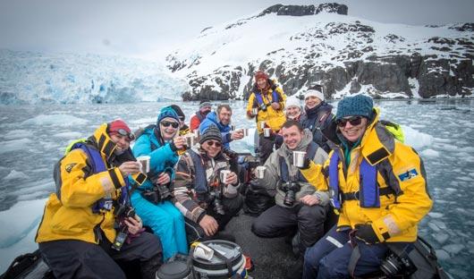 Antarctica XXI Zodiac Trip