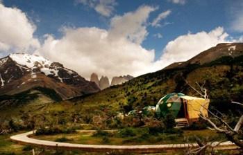 Cascada EcoCamp Patagonia Chile