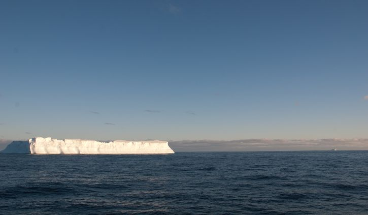 First tabular iceberg scotia sea