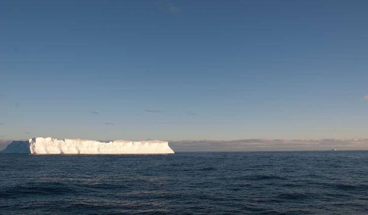 First tabular iceberg scotia sea