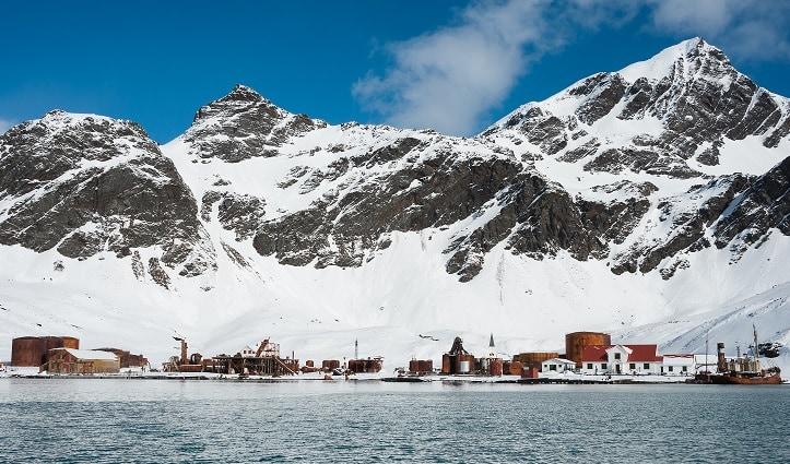 Grytviken Harbour South Georgia