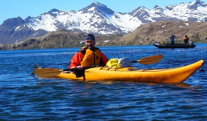 Kayaking South Georgia (Hayley Crowden)