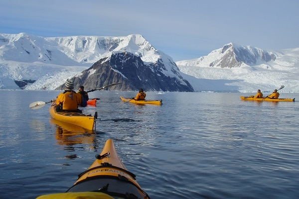Kayaking in Antarctica Expedition Ship Akademik Ioffe