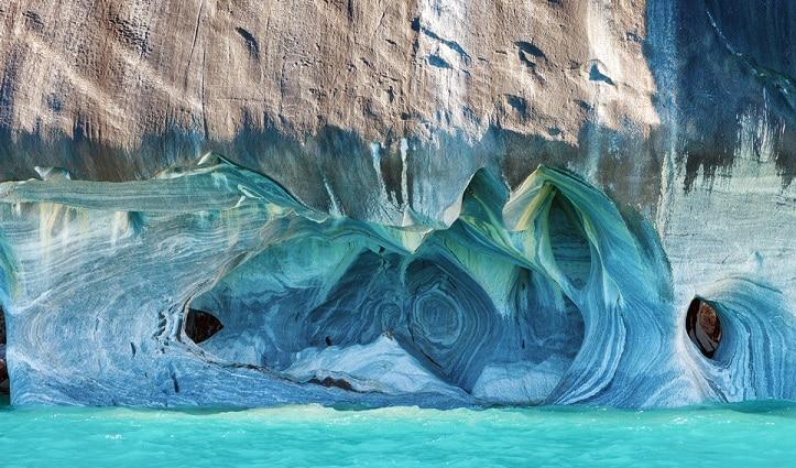 Marbled Caves Lake General Carrera - Patagonia Chile
