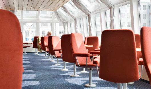 Ocean Nova Antarctica XXI Observation Lounge