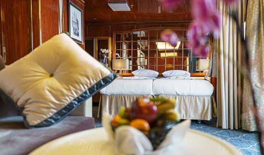 Sea Spirit premium suite lounge