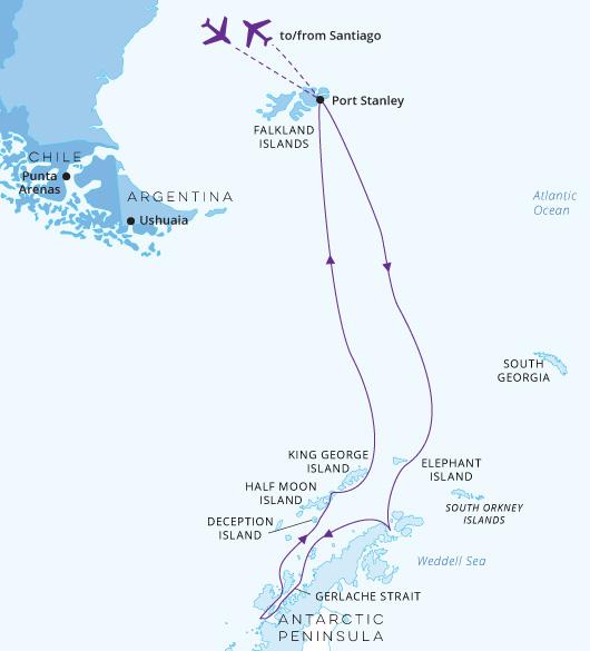 Antarctica off the Beaten Track