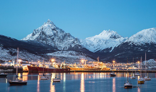 Ushuaia gateway to Antarctica Argentina