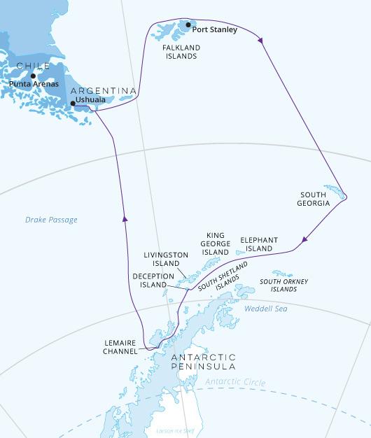Falkland Islands South Georgia Antarctica