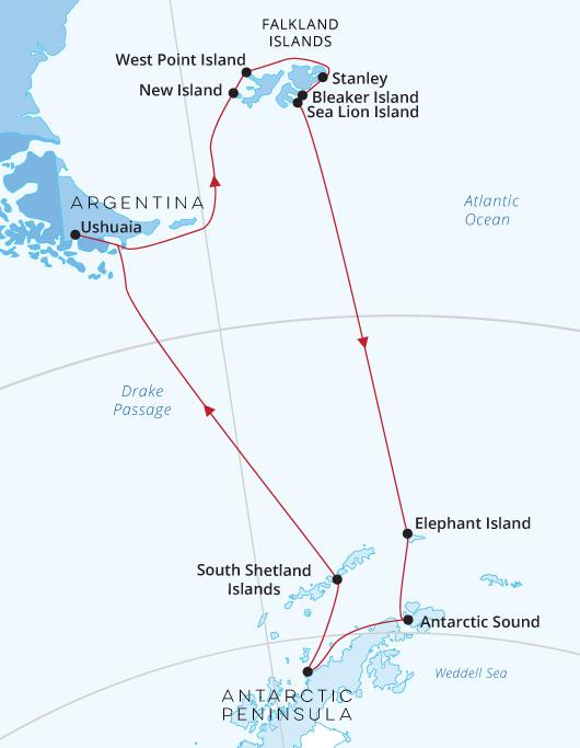 Antarctica and Falklands