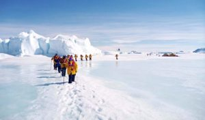Arrival at Snow Hill to see the Emperor Penguins