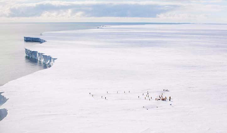Weddell Sea Ice Shelf