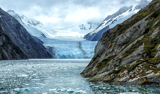 Garibaldi Glacier Patagonia, Chile
