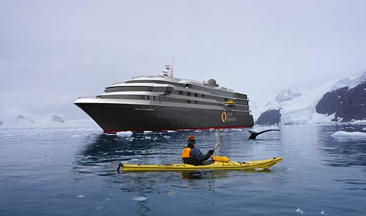 World Explorer and Kayak