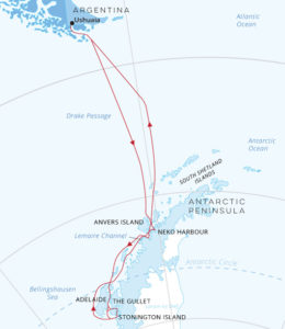 Hondius Antarctica Crossing the Circle