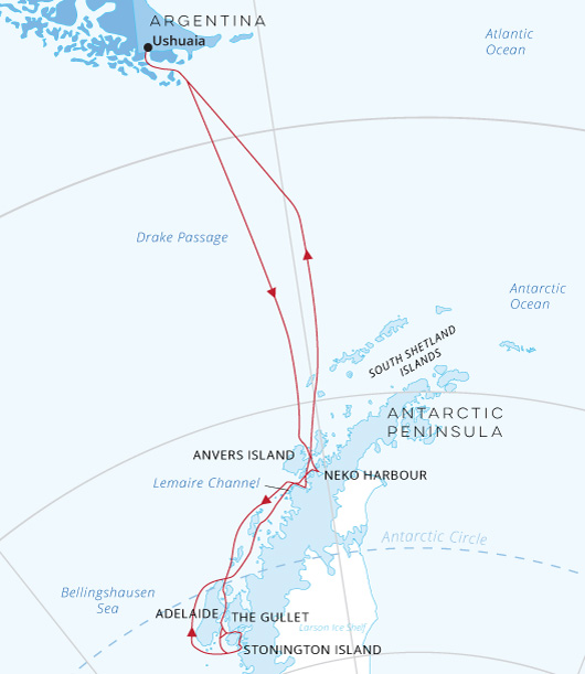 Hondius Antarctica Crossing the Circle