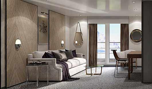 grand suite Magellan Explorer lounge