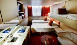 Ocean Diamond Triple Cabin
