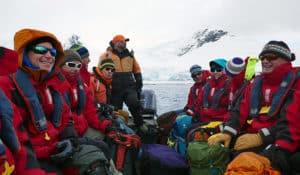 James Darby Antarctica zodiac