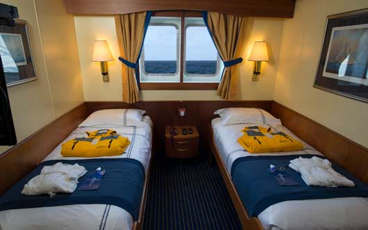 Ocean Adventurer Main Deck Twin Window