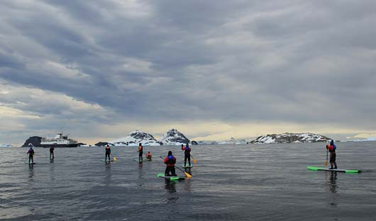 Stand Up Paddleboarding Antarctica