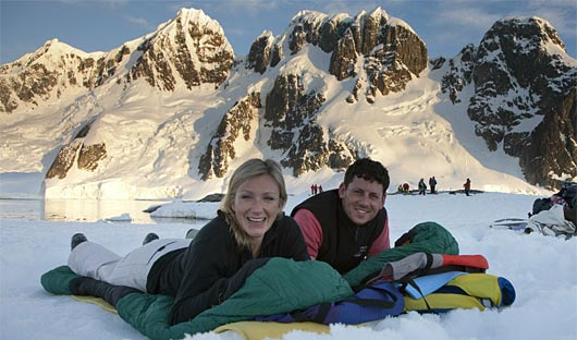 Camping Greg Mortimer