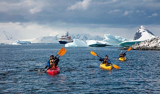 Kayaking Poseidon