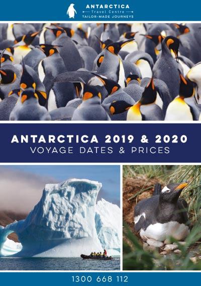 2019-20 Antarctica Dates Rates cover