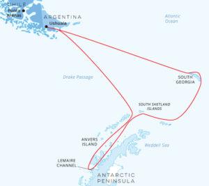 South Georgia and Antarctic Peninsula