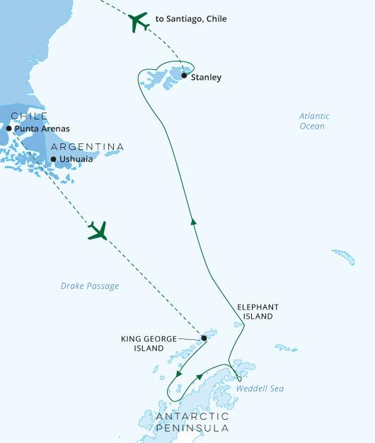 Resolute Ultimate Antarctica 2020-21
