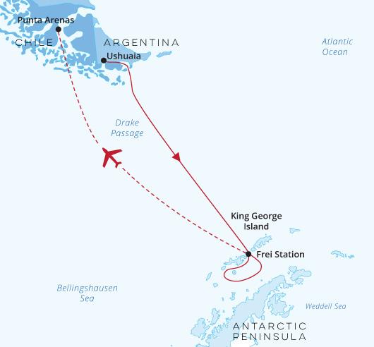 Antarctica Express-air-cruise