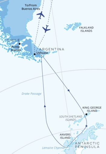 Antarctic-Explorer-Ocean-Endeavour 11 Days