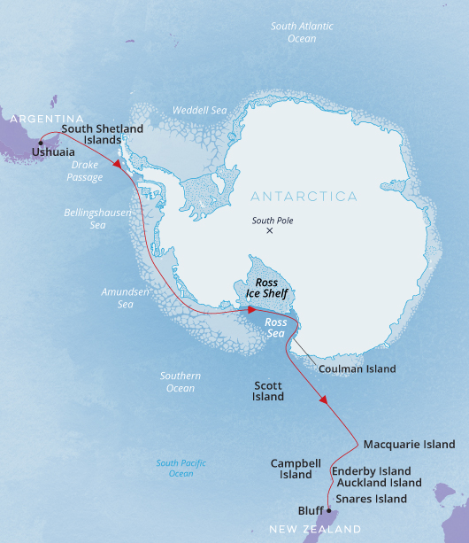 Epic Antartica Nat Geo Endurance