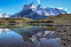 Los Cuernos. Horns with Reflection Chile - Adrian Hill