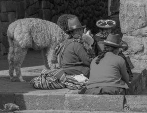 Cuzco City Locals by Andrew Moig