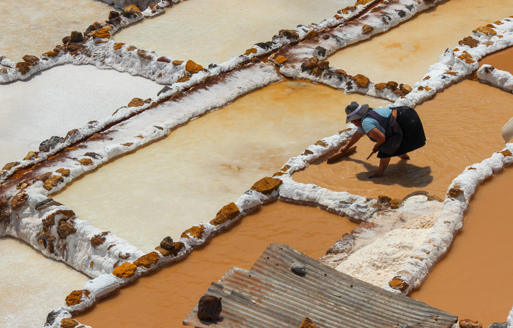 Ponds of Maras, Peru by Michelle Feros