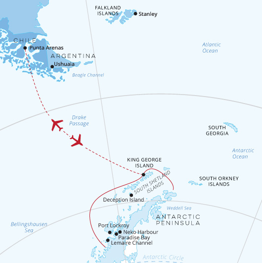 ATC_GregMortimer_Antarctic-Explorer-express-map