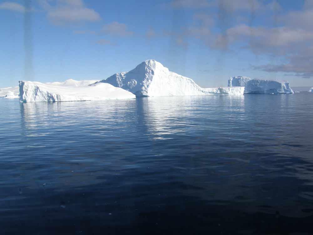 Icebergs Antarctica by Diane Matthews