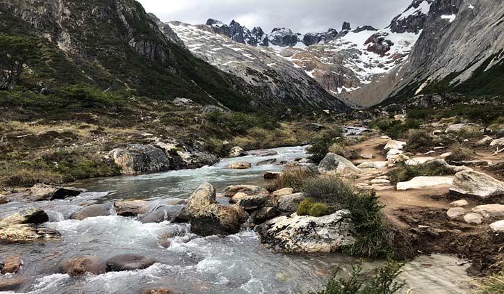 Lake Esmeralda, Ushuaia day hike