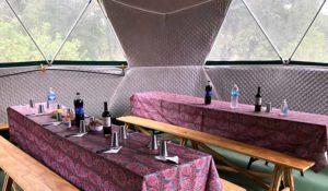 Lunch area Tierra del Fuego
