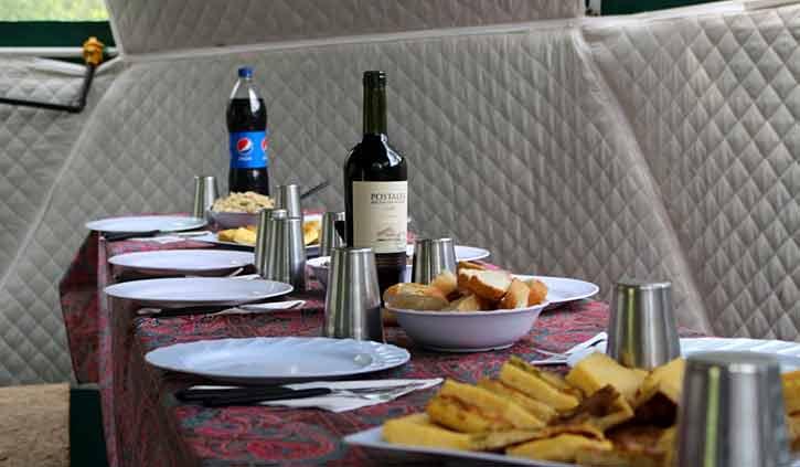 Lunch Tierra Del Fuego