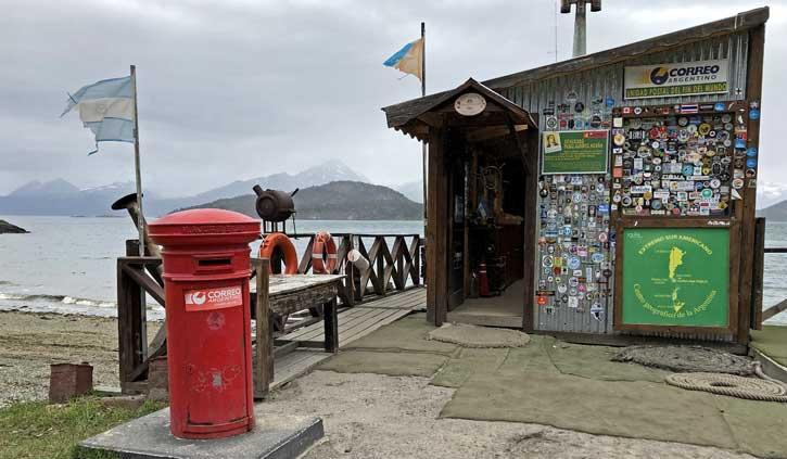Post Office Tierra del Fuego