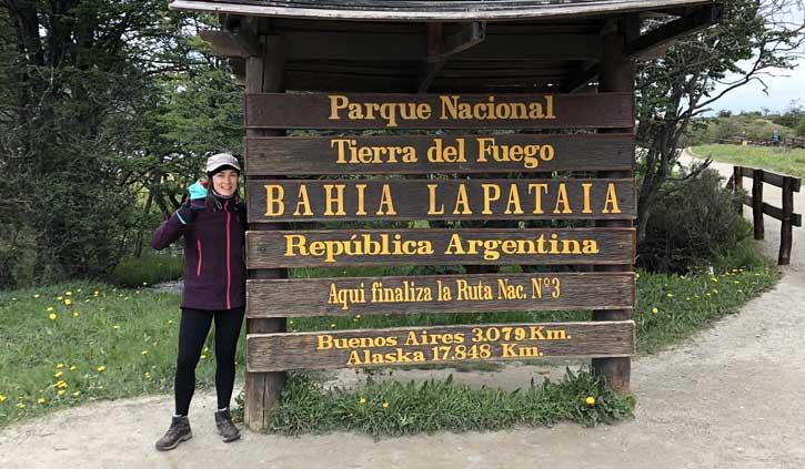 Sign Tierra Del Fuego