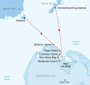 Antarctica - The Ross Sea - Hobart to Christchurch