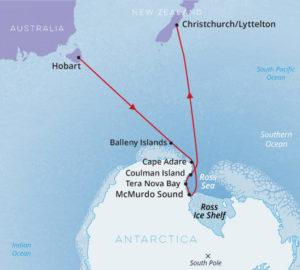 Antarctica, Ross Sea - Hobart to Christchurch