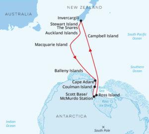 In the Wake of Scott and Shackleton Invercargill Return