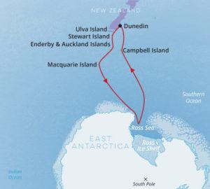 Dunedin to Dunedin Ross Sea