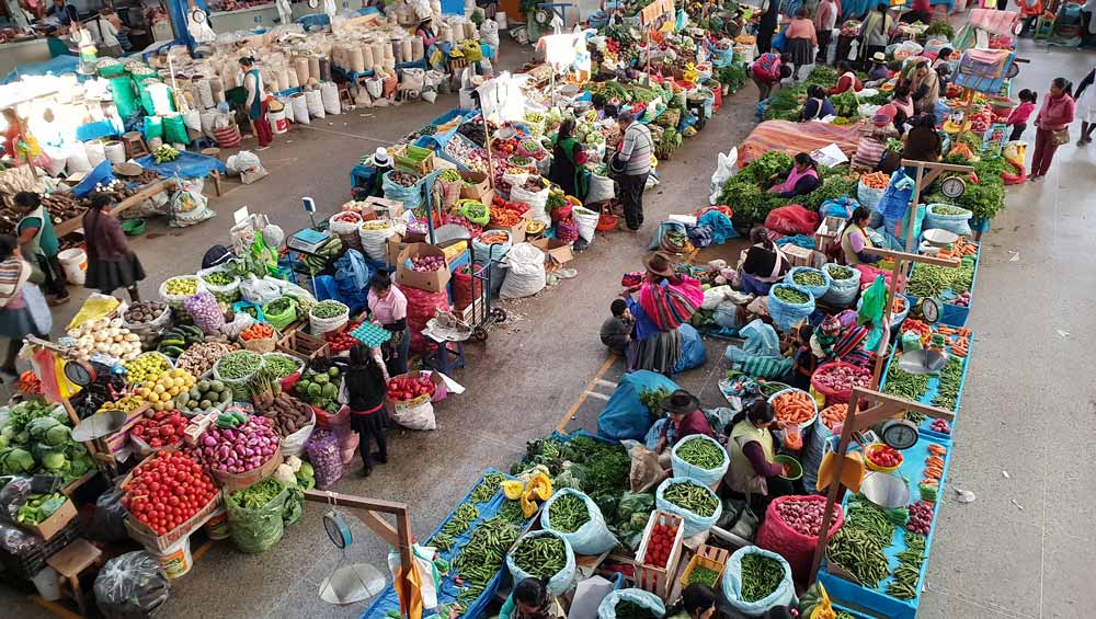 Colourful Market by Cheryl Gale
