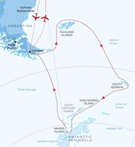 Falklands, South Georgia, Ocean Endeavour